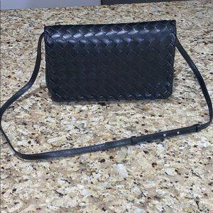 Bottega veneta black leather purse brand new